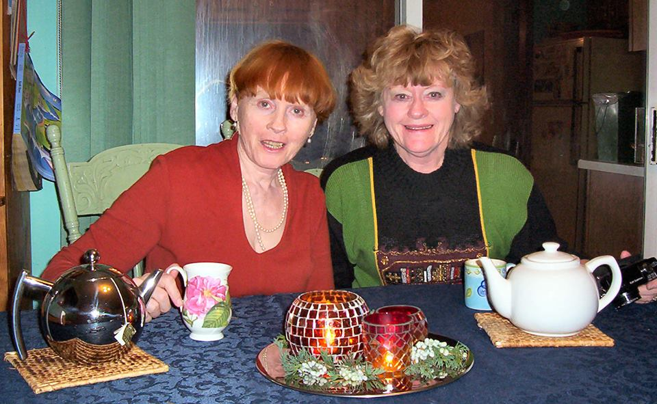June and Shirley in 2003