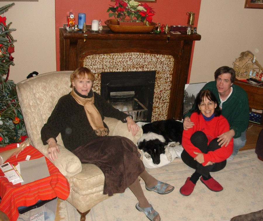 Christmas spent in Toronto with Mike and Dorcas